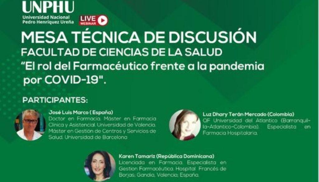 Discutirán sobre el rol del farmacéutico