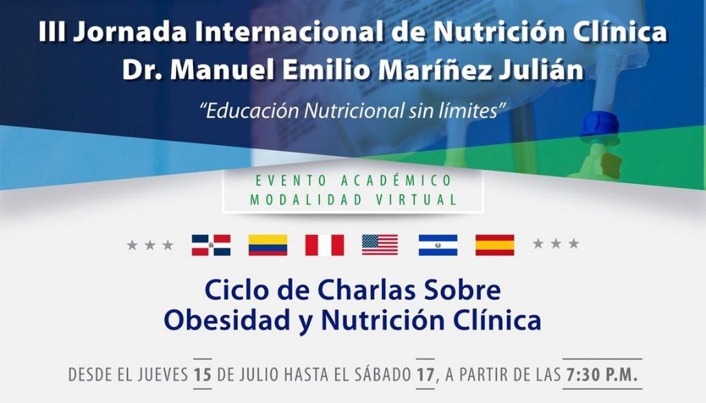 Sodonep realizará III Jornada Internacional de Nutrición Clínica gratuita