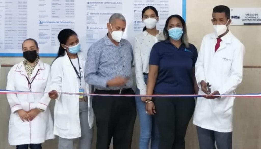 Hospital Robert Reid inaugura unidad de compras