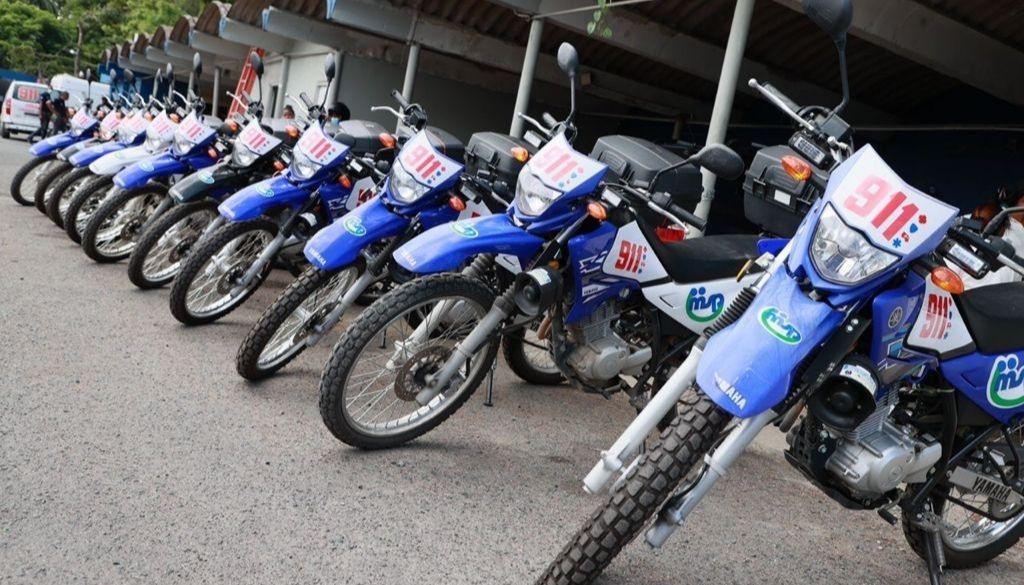 Lanzan programa de moto asistencia para fortalecer 9-1-1