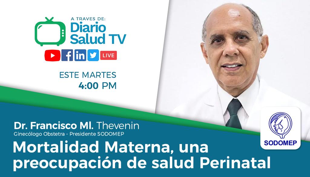 DiarioSalud TV invita a programa sobre mortalidad materna