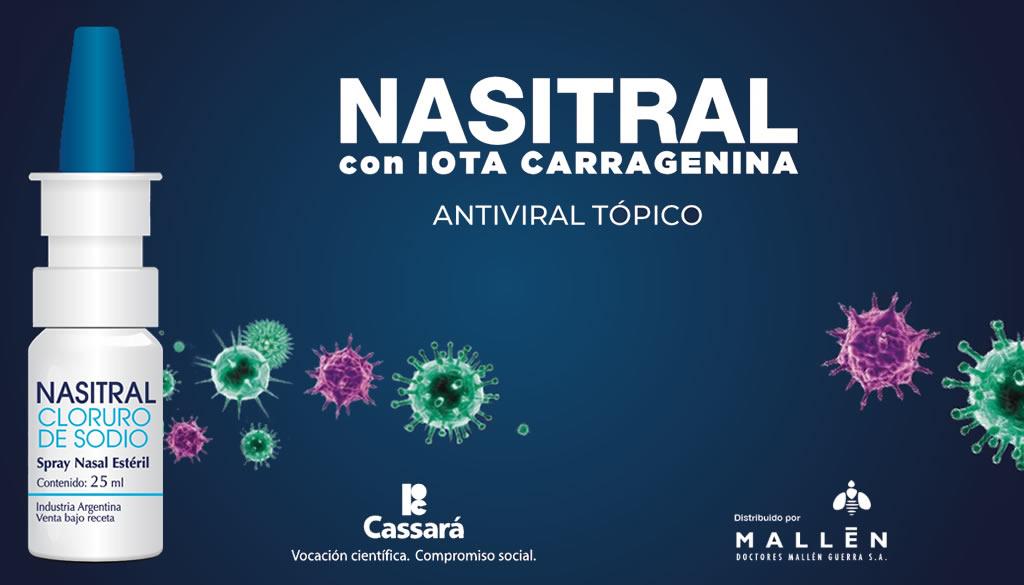 Un Spray Nasal aprobado por la ANMAT- Argentina brinda protección contra el SARS-CoV-2