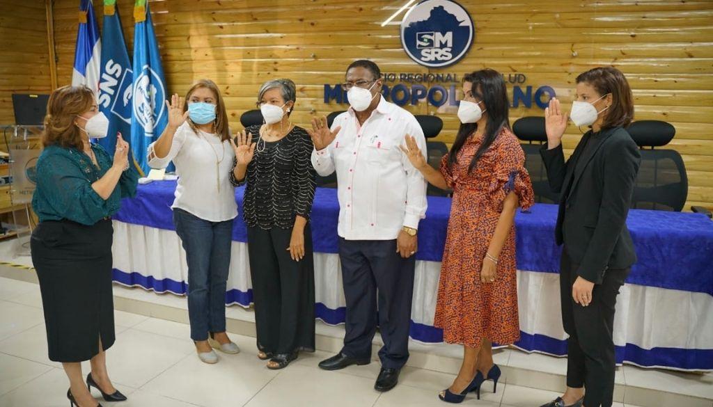 Juramentan Comité Gestor Club Donantes de Sangre del SRSM