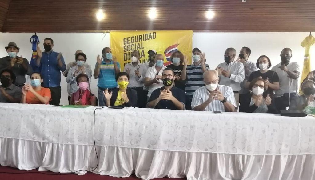 Reiteran llamado a movilización cívica por reforma seguridad social