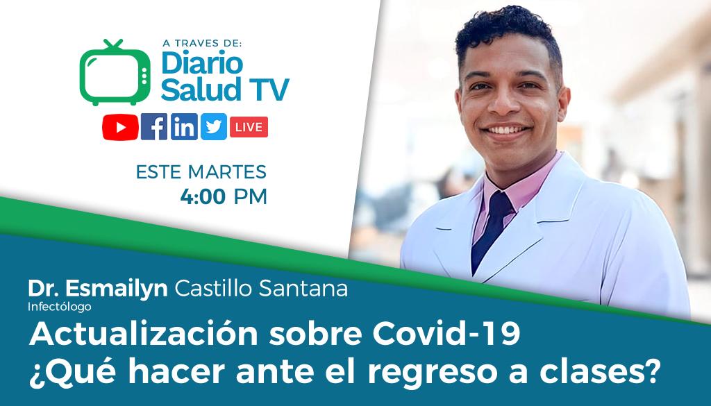 DiarioSalud TV invita a programa sobre regreso seguro a clases