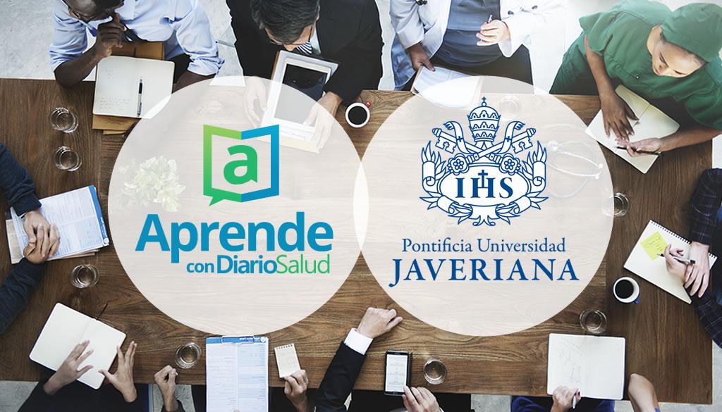 Aprende con DiarioSalud forma alianza con universidad Javeriana de Colombia