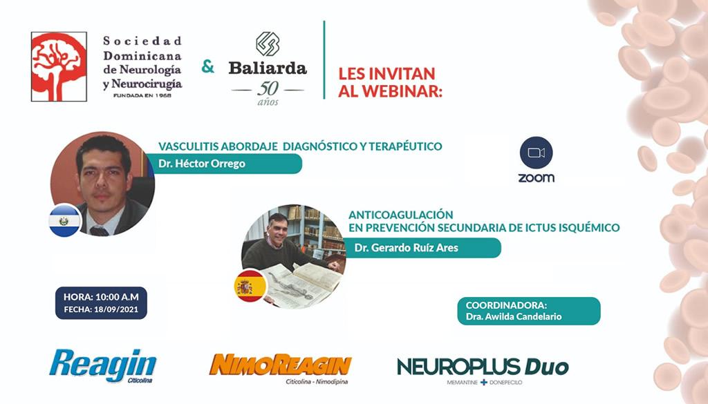 Sociedad de Neurología y Neurocirugía realiza webinar