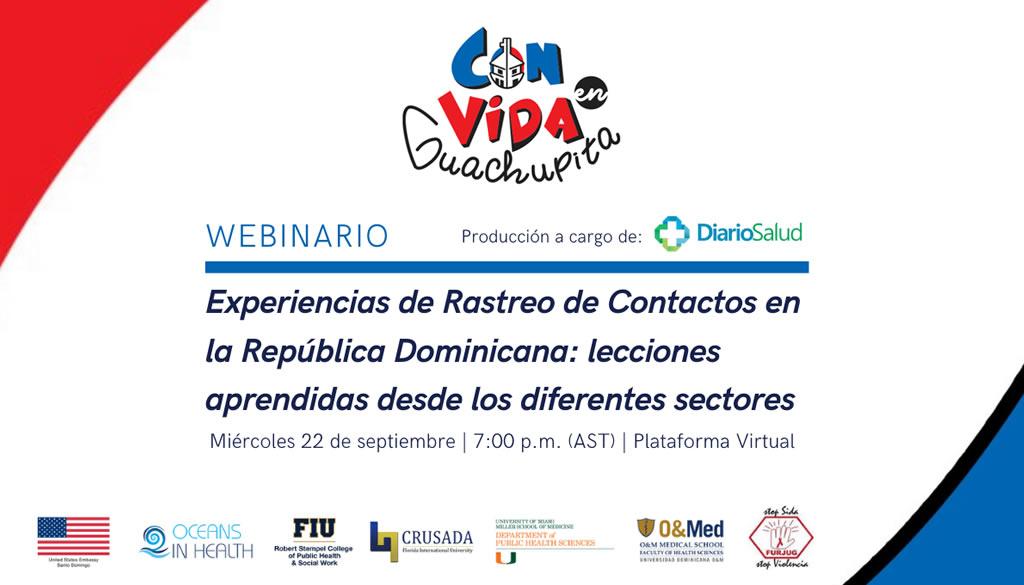 Two Oceans in Health invita a Webinario Experiencias de Rastreo de Contactos en República Dominicana