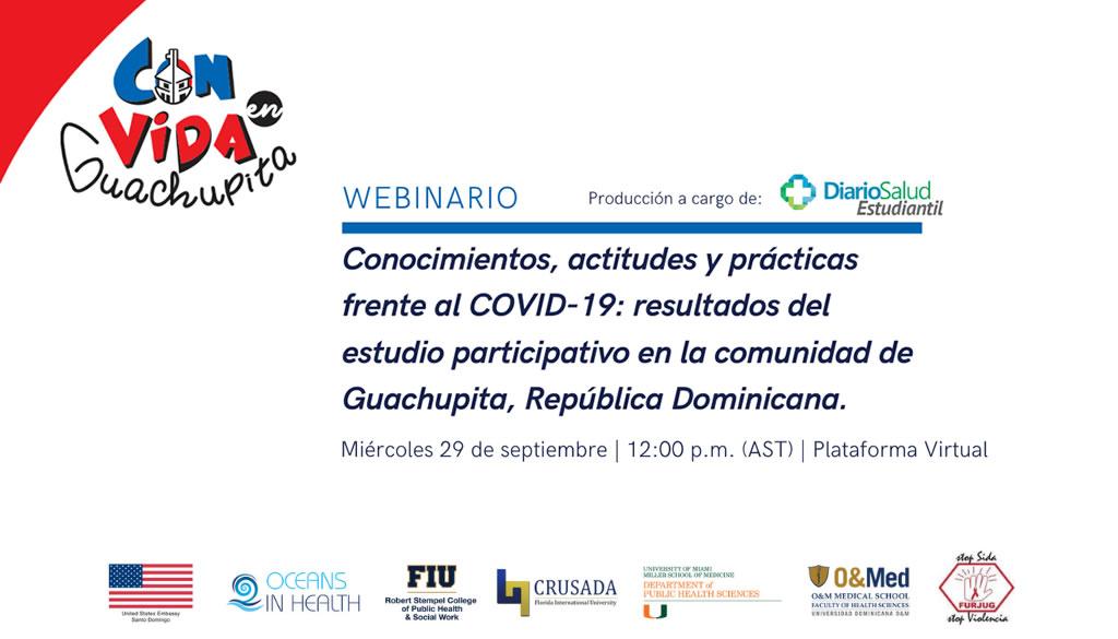 Two Oceans in Health invita a Webinario Conocimientos, actitudes y prácticas frente al COVID-19