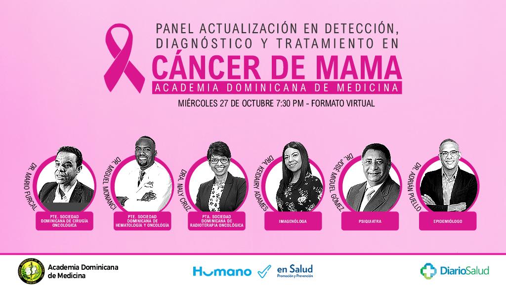 Humano y Academia de Medicina anuncian panel sobre cáncer de mama