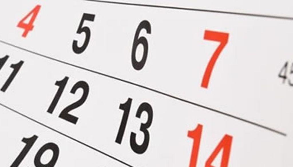 Agenda actividades del sector salud para esta semana