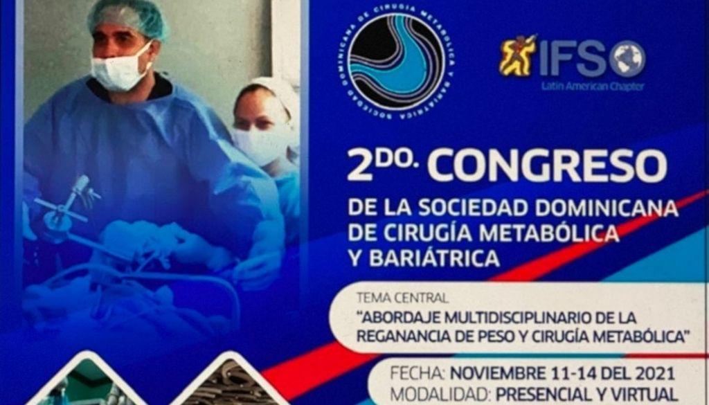 Sociedad Cirugía Metabólica y Bariátrica invita a su 2do congreso
