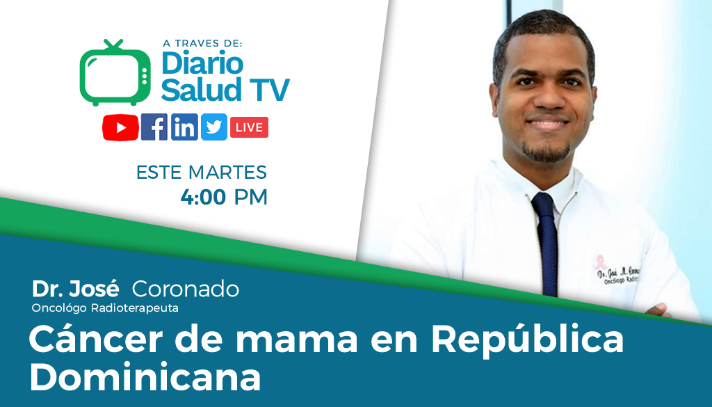 DiarioSalud TV invita a programa sobre cáncer de mama