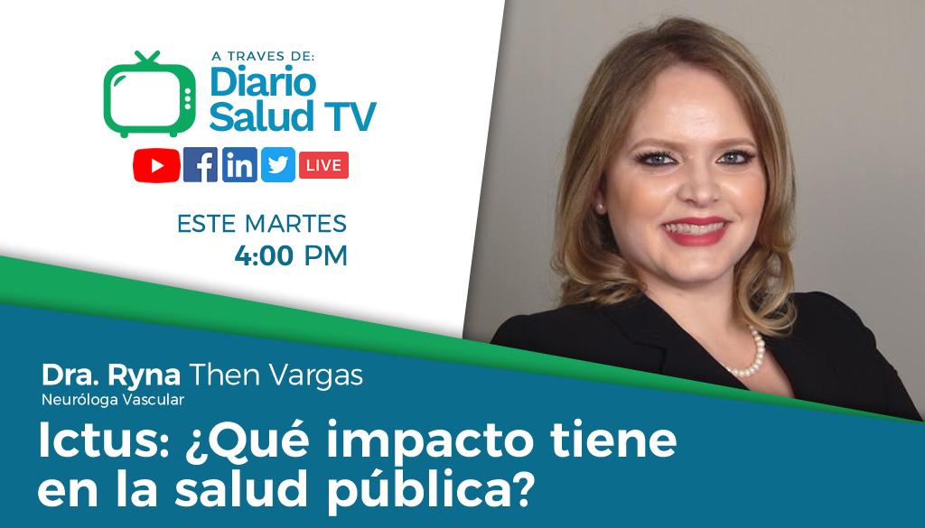 DiarioSalud TV debatirá sobre impacto del Ictus en Salud Pública
